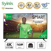 "Syinix 55"" Android 4K UHD Smart LED TV 