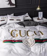 Gucci White Bedsheet Duvet Cover Set | Home Accessories for sale in Lagos State, Ikeja