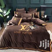 Louis Vuitton Duvet Cover Bedsheet Set - Brown | Home Accessories for sale in Lagos State, Ikeja