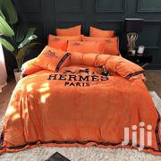 HerméS Duvet Cover Bedsheet Set - Orange | Home Accessories for sale in Lagos State, Ikeja