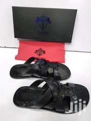 New Pattern Black Meidefan Pams for Men | Shoes for sale in Lagos State, Lagos Island