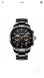 CUENA Mens Analog Quartz Wrist Watch Luxury Sports Fashion Watches | Watches for sale in Abuja (FCT) State, Central Business District