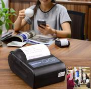 Mini Small Portable Mobile Pocket Bluetooth Thermal Printer | Store Equipment for sale in Lagos State, Ikeja