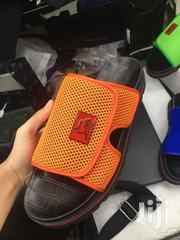Orange Color With Tiny Dot Netdesign Pam by Christian Louboutin | Shoes for sale in Lagos State, Lagos Island