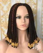 Closure Beaded Ghana Weaving With Braids Wig | Hair Beauty for sale in Lagos State, Lagos Mainland