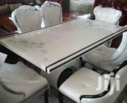 Royal Marble Dining Table 6 Seaters   Furniture for sale in Lagos State, Amuwo-Odofin