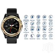 Bluetooth Smartwatch With SIM Memory Card Slot (2019 Model) - Gold | Smart Watches & Trackers for sale in Lagos State, Ikeja