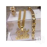 Fashion 10k Necklace With A Bangle And Ring | Jewelry for sale in Lagos State, Surulere