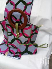 Ankara Handbag With Clutch Purse | Bags for sale in Lagos State, Ikeja