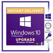 Windows 10 Home To Pro Upgrade Key - Windows 10 Home Upgrade Key | Software for sale in Lagos State, Surulere