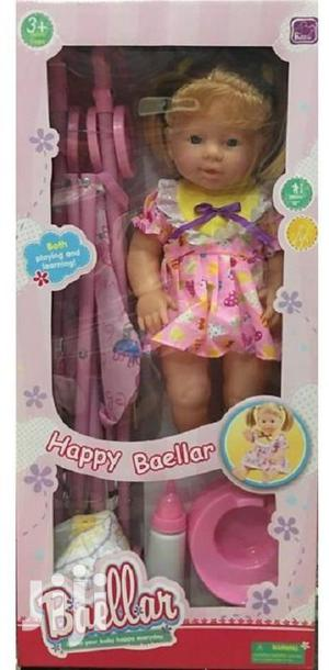 Baby Doll With Stroller (Children Toys)
