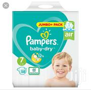 Pampers Baby Dry Diaper Size 4+,5,7 | Baby & Child Care for sale in Lagos State, Ikeja