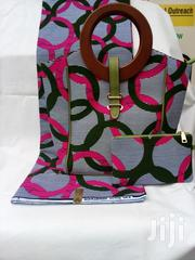 Durable 3 In 1 Ankara Handbag And Clutch Purse | Bags for sale in Lagos State, Ikeja