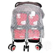 Two In One Double Stroller - Red And Black | Prams & Strollers for sale in Lagos State, Ojota