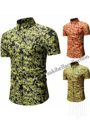 Men's Casual Short Sleeve Print Shirts | Clothing for sale in Rivers State, Port-Harcourt