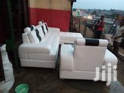 L-shape Leather Sofa With Center Table | Furniture for sale in Lagos State, Ikeja