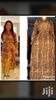Turkey Ladies Collar Long Flare Gown | Clothing for sale in Lagos State, Egbe Idimu