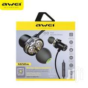 Awei Magnetic Wireless Headphone X650BL | Headphones for sale in Lagos State, Ikeja