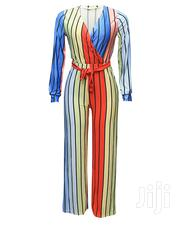 Hot Women Long Sleeve Colorful Jumpsuit-Multi Color | Clothing for sale in Lagos State, Ojota