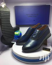 Blue Leather Designer Oxford Shoes | Shoes for sale in Lagos State, Lagos Island