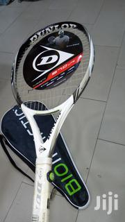 Professional Dunlop Biometric Tennis Racket With Vibration Control   Sports Equipment for sale in Abuja (FCT) State, Garki 1