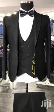 Plain Black 3piece Turkish Brand Men's Suits | Clothing for sale in Lagos State, Lagos Island