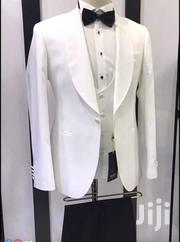 White Turkish Designer Wedding Dinner Tuxedo Suits by Nevio Collectn | Clothing for sale in Lagos State, Lagos Island