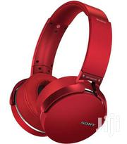 Sony MDR-XB950 Extra Bass Wireless Bluetooth Headphone (Red) | Headphones for sale in Lagos State, Ikeja