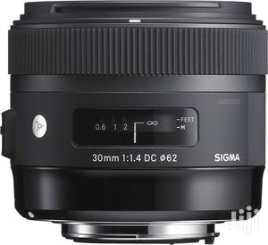 Sigma 30mm F1.4 DC Art Lens for Sony a Mount