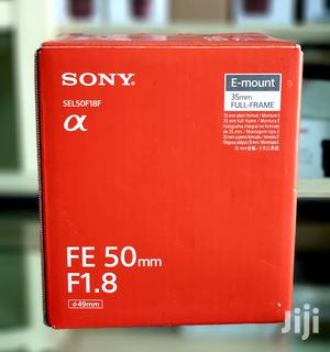 Sony FE 50mm F1.8 Full Frame Lens For Sony E Mount