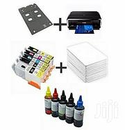 Canon IP7240 + Ink + Cartridges + I'd Card PVC(235pices) +ID Tray | Accessories & Supplies for Electronics for sale in Lagos State, Ikeja