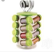 Spice Rack 16in1 With Cutlery Holder | Kitchen & Dining for sale in Lagos State, Ilupeju