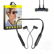 Awei Neckband Wireless Sports Headphone G30BL | Headphones for sale in Lagos State, Ikeja