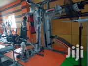 Commercial 3 Station Gym With Sit Up Bench N Punching Bag | Sports Equipment for sale in Abuja (FCT) State, Central Business District