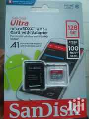 Original Sandisk Memory Card 128gb With 365 Days Warranty | Accessories for Mobile Phones & Tablets for sale in Lagos State, Ikeja