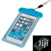 Glow in the Dark Waterproof/Rainproof Mobile Cell Phone Case-Blue   Accessories for Mobile Phones & Tablets for sale in Lagos State, Amuwo-Odofin
