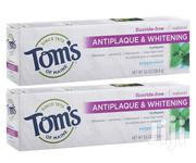 1 Pack Of Tom's Of Maine Antiplaque And Whitening Fluoride-free | Bath & Body for sale in Lagos State, Ifako-Ijaiye