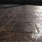Stamped Concrete Floor | Building & Trades Services for sale in Kano State, Kano Municipal