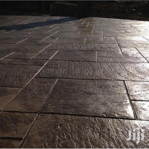 Stamped Concrete Floor In Kano
