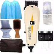 Chaoba Hair Clipper + Powder Brush + Hair Brush + Apron + Bag | Makeup for sale in Lagos State, Oshodi-Isolo