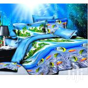 Blue 3D Quilt Cover Four Sets of Bed | Furniture for sale in Edo State, Egor
