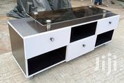 New TV Stand Shelf With Glass Top and Three Drawers | Furniture for sale in Lagos State, Oshodi-Isolo