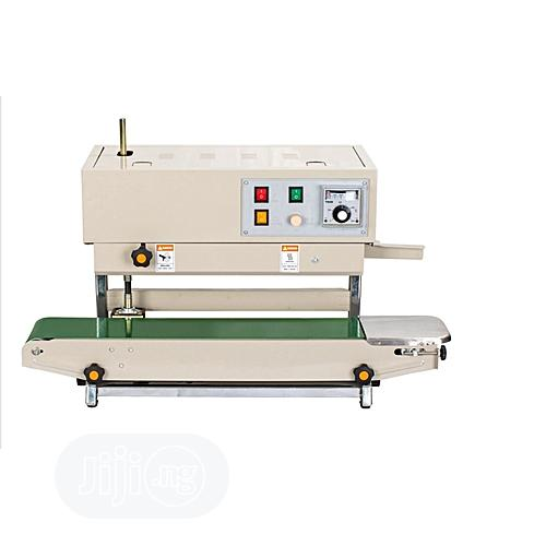 Automatic Continuous Band Sealer Cutter Edge Sealing Machine