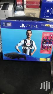 Play Station 4 Console 500gb Wit Fifa 19 | Video Game Consoles for sale in Lagos State, Ikeja