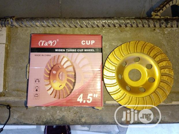 "4.5"" Concrete Grinding Wheel"