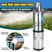 Electric Solar Water Pump Submersible Bore Hole Deep Well Pump | Solar Energy for sale in Abuja (FCT) State, Asokoro