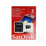 Sandisk Memory Card 8GB   Accessories for Mobile Phones & Tablets for sale in Abuja (FCT) State, Wuse 2