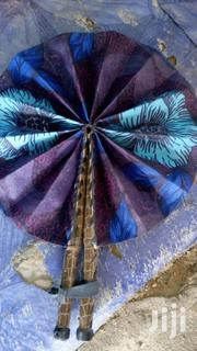 Ankara/Leather Handfans | Clothing Accessories for sale in Lagos State, Lagos Mainland