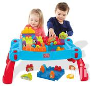 U.S Neatly Used Building Mega Blocks With Table | Toys for sale in Lagos State, Ikorodu