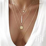 Fashion Vintage Boho Multi-layer Pendant Necklace For Women | Jewelry for sale in Lagos State, Ifako-Ijaiye